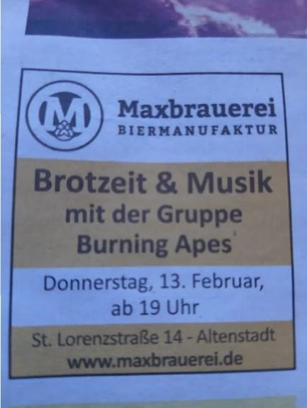 Burning Apes